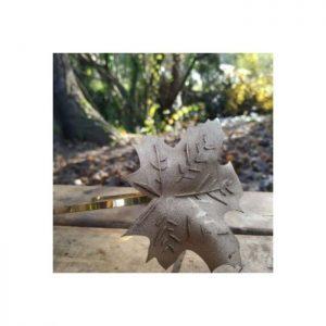 diadema hecha a mano